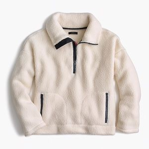 J. Crew half-zip Polartec Fleece